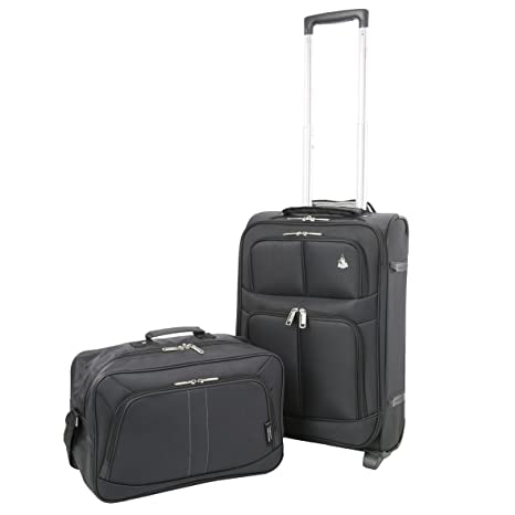 c0c490164132 Aerolite 22x14x9 quot  Carry On MAX Lightweight Upright Travel Trolley Bags Luggage  Suitcase