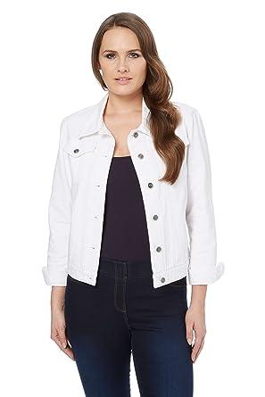 Roman Originals Women S Denim Jacket Ladies Smart Cotton Casual