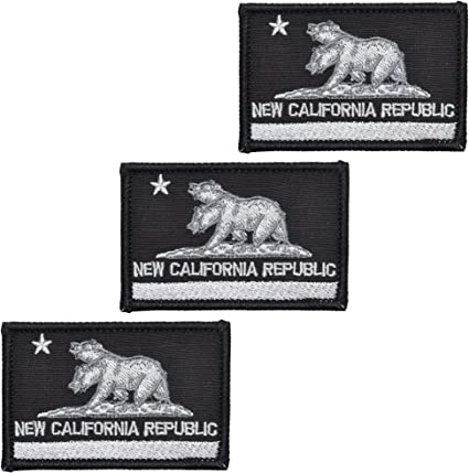 New California Republic NCR State Flag 2x3 Patch