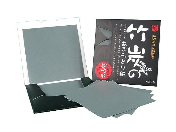 Papel absorbente de aceite facial, oil control blotting paper ...