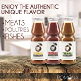 Tkemali - Sour Plum Gourmet Sauce -Perfect  Condiment-  Best Sellers Variety 3-Pack -13 ounce Per Bottle