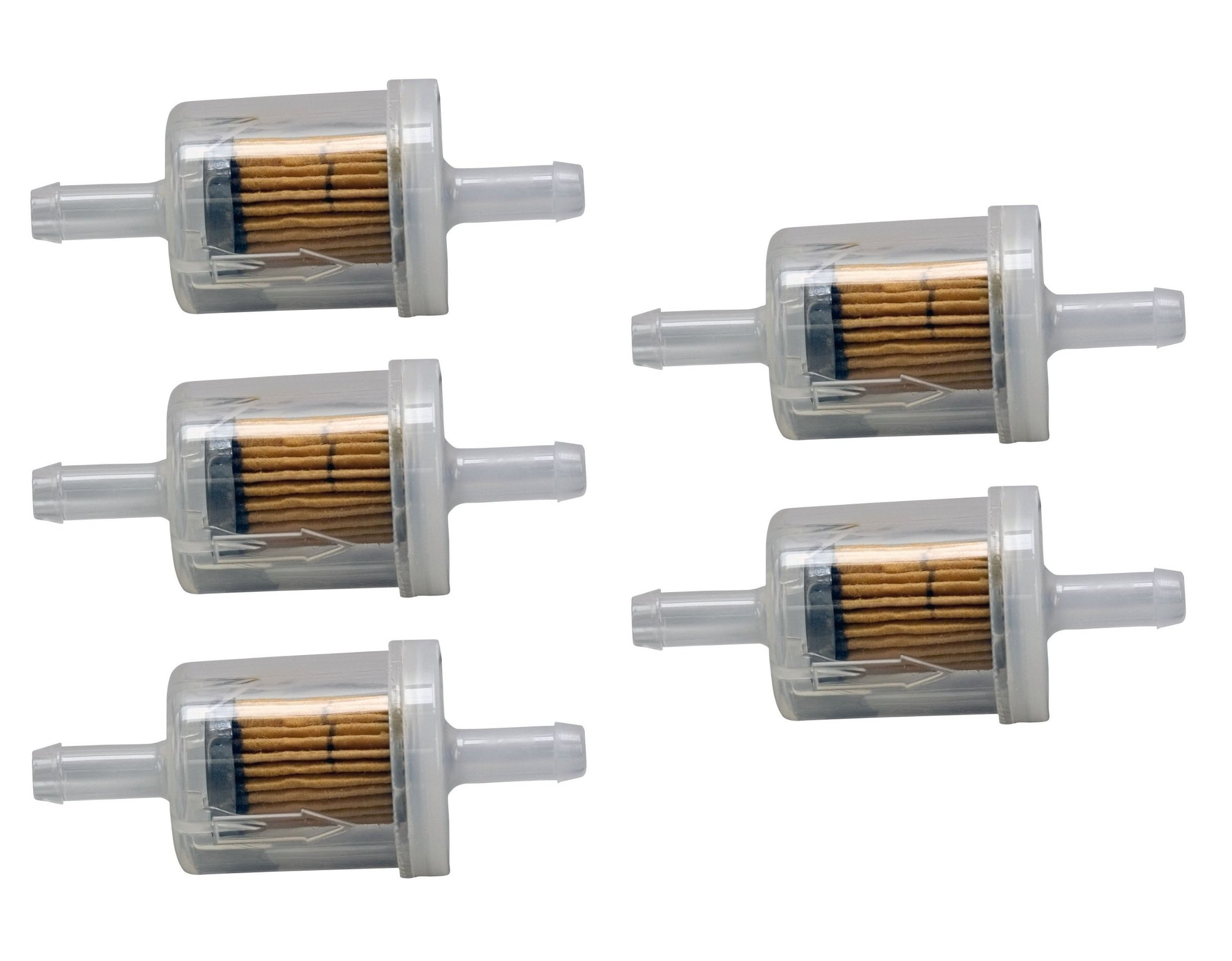 Briggs & Stratton Genuine OEM 691035 40 Micron Fuel Filter (5 Pack)