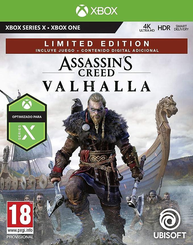 Assassins Creed Valhalla - Limited Edition (Exclusiva Amazon): Amazon.es: Videojuegos