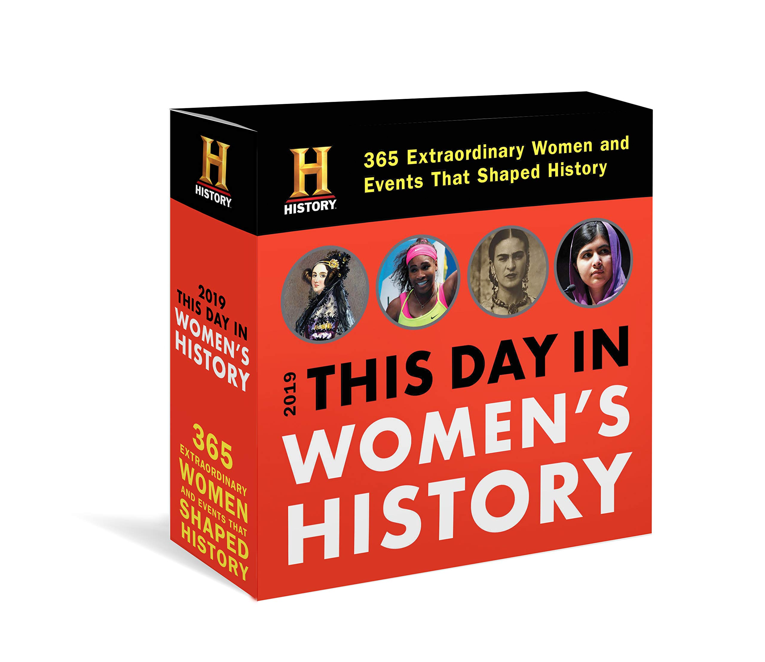 2019 History Channel This Day in Women's History Boxed Calendar: 365 Extraordinary Women and Events That Shaped History pdf epub