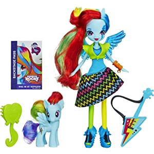 8d1e52d110181 My Little Pony Equestria Girls Rainbow Dash Doll and Pony Set(Discontinued  by manufacturer)