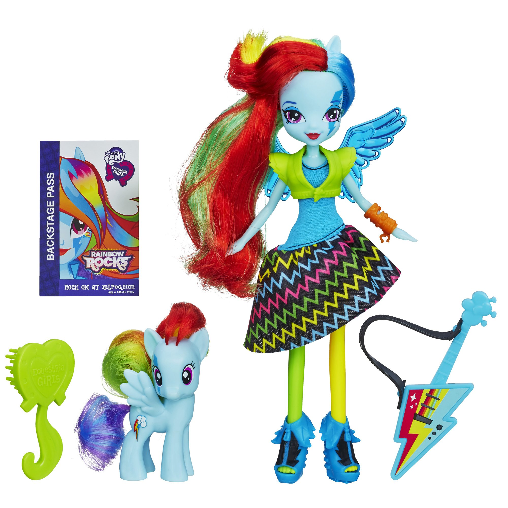 My Little Pony Equestria Girls Rainbow Dash Doll and Pony Set(Discontinued by manufacturer) by My Little Pony