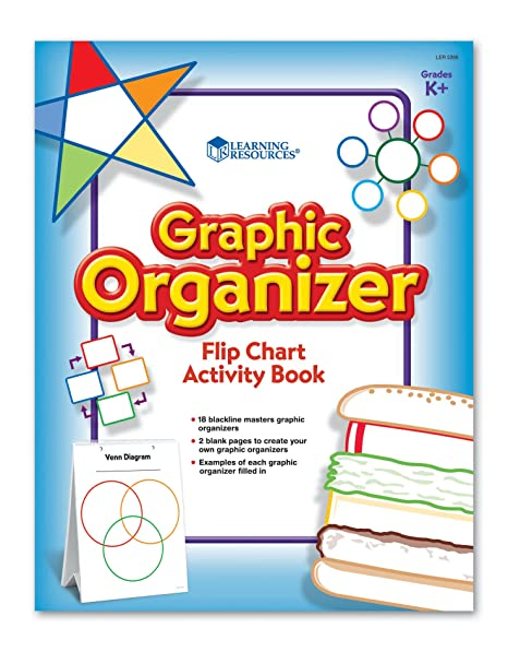 Amazon Learning Resources Graphic Organizer Flip Chart