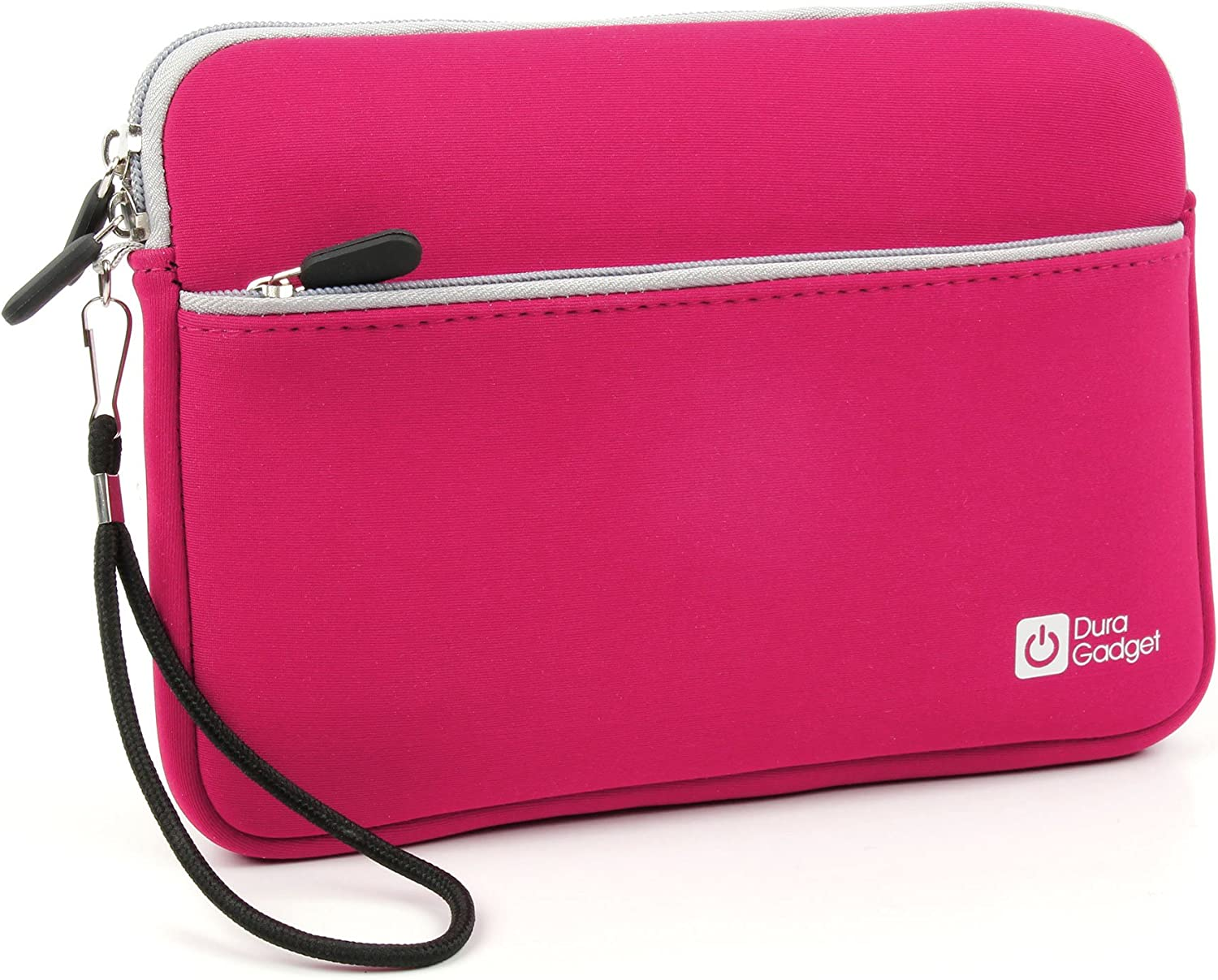 DURAGADGET Pink Neoprene Soft Cover - Compatible with Acer Iconia A700   A1-811-83891G01NW   A1-811   Iconia Tab A500 & A501 10.1 Inch Tablet