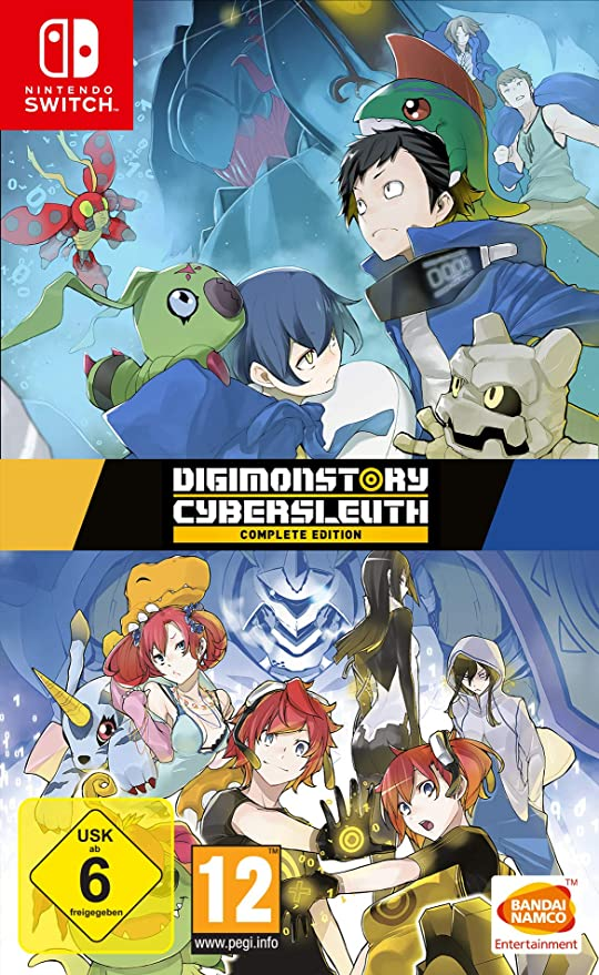 Digimon Story: Cyber Sleuth Complete Edition - Nintendo Switch ...