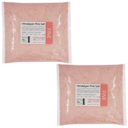 10KG | PINK HIMALAYAN ROCK SALT | FINE | FOOD GRADE | Table Salt 100%  Natural Healthy | Food Salt or Bath Salt
