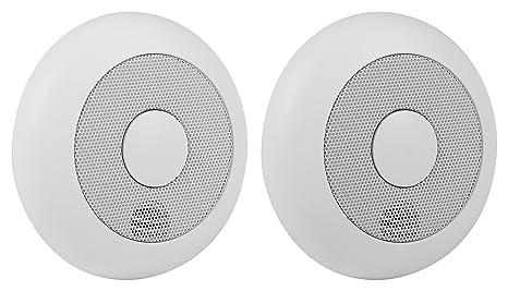 Smartwares RM175RF/2 Detector de Humo, 85 dB, baterías Incluidas, conectable: Amazon.es: Bricolaje y herramientas