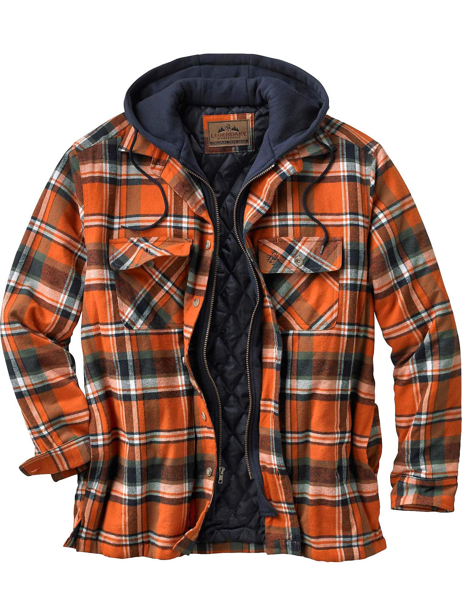 Legendary Whitetails Maplewood Hooded Shirt Jacket, Tomahawk Plaid, XXXX-Large by Legendary Whitetails
