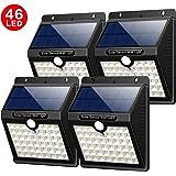 solarleuchten au en 4 st ck yacikos 40 led solarlampe mit bewegungsmelder solar wandleuchte. Black Bedroom Furniture Sets. Home Design Ideas