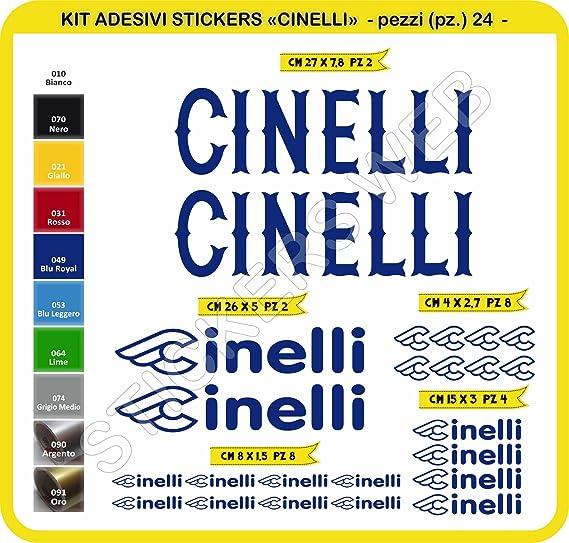 Kit de pegatinas para bicicleta Cinelli, 24 unidades, diferentes ...