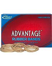 Alliance Sterling Advantage Rubber Band Size No.54, Assorted Sizes, 1 Pound Box - 26545