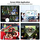 120 inch Rear Projection Screens - Portable Movie