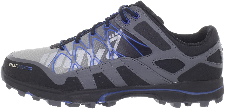INOV8 Roclite 315 Zapatilla de Trail Running Caballero, Gris/Azul, 44.5: Amazon.es: Zapatos y complementos