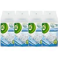Air Wick Freshmatic, Crisp Linen & Lilac Auto Spray Air Freshener, 250 ml Refill, Pack of 4