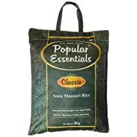 Popular Essentials Classic Sona Masouri Rice, 5kg