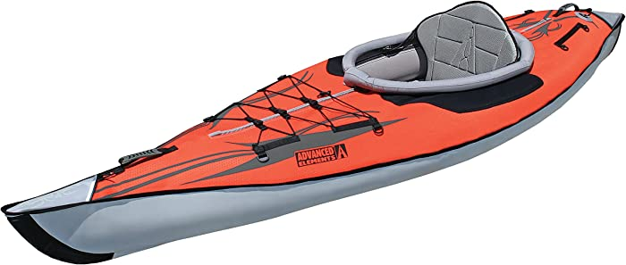 Solo Inflatable (Blow Up) Ultralight Kayak <span>for teenagers and youth</span> [Advanced Elements] Picture
