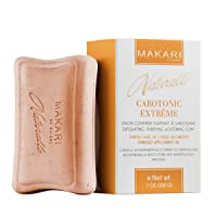 Makari Naturalle Carotonic Extreme Skin Lightening Soap 7oz. – Exfoliating & Toning Body Soap With Carrot Oil & SPF 15 –Cleansing & Whitening Treatment for Dark Spots, Acne Scars, Blemishes & Wrinkles