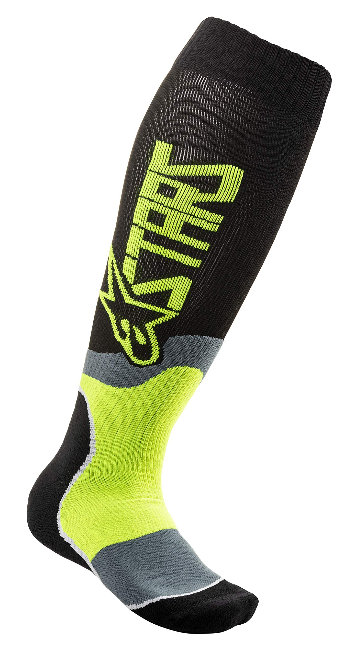 ALPINESTARS YOUTH MX PLUS-2 SOCKS (BLACK/YELLOW) by Alpinestars