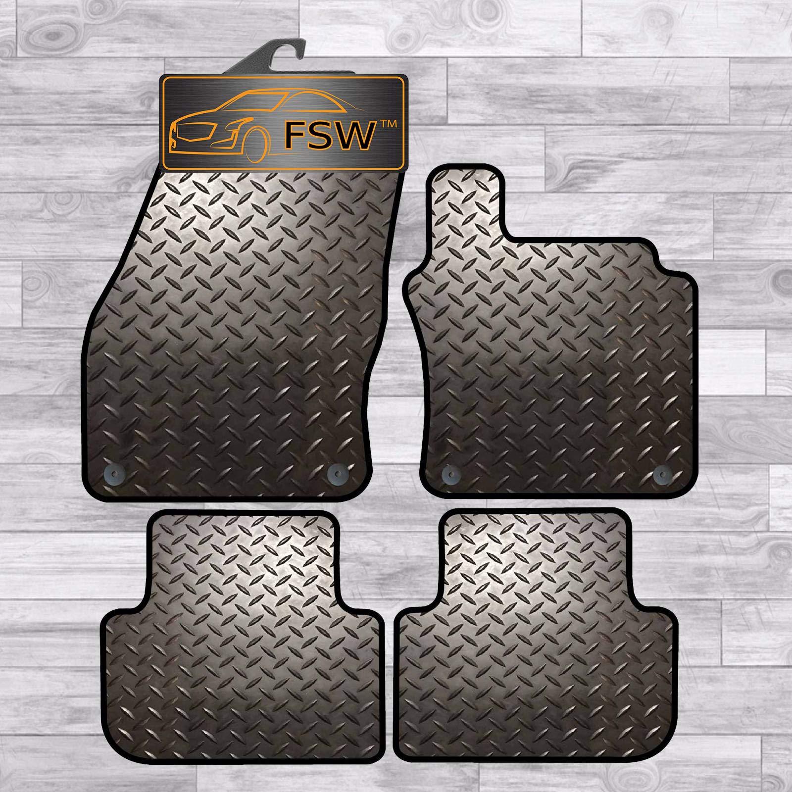 FSW Corsa D 2007-2014 Fully Tailored 3MM Rubber Heavy Duty Car Floor Mats