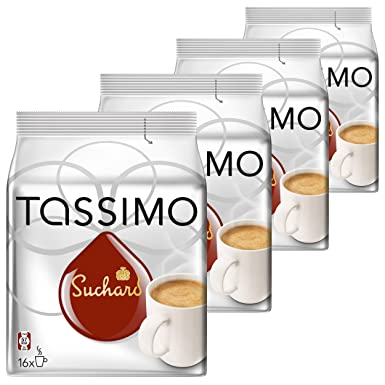 Tassimo Suchard Hot Chocolate Pack Of 4 4 X 16 T Discs