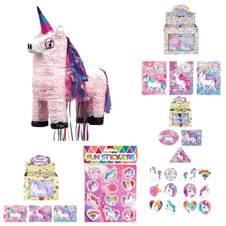 Packs4You Unicorn Pinata With 60 Unicorn Goodies