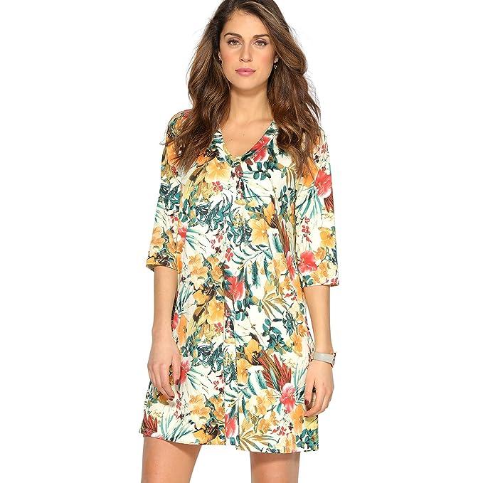 VENCA Vestido favorecedora línea evasé by Vencastyle: Amazon.es: Ropa y accesorios