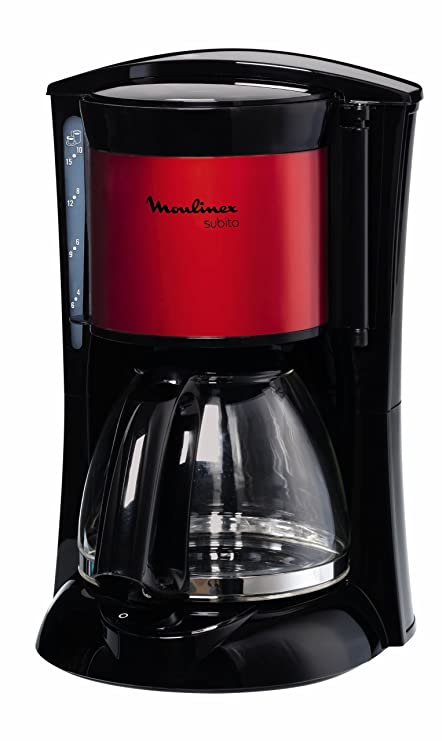 Moulinex Subito Winered, Negro, Rojo, 1000 W - Máquina de café ...