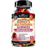 Women's Multivitamin Gummies with A, C, B6, B12, D & E Vitamins for Immune Support - Highly Absorbable Nutrients for Whole Bo