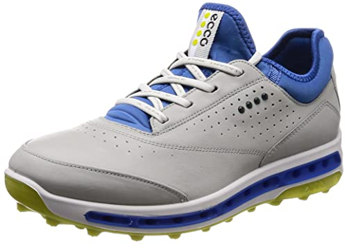 66ab323fbe ECCO Shoes Men's Cool Pro Golf Shoes, Concrete/Kiwi, 44 EU/ 10.5-11 ...