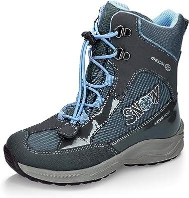 Decorar ajuste Larry Belmont  Geox J848BB 050HH C4269 Alaska - Botas de invierno impermeables para niña,  material de malla, color Azul, talla 26 EU: Geox SP: Amazon.es: Zapatos y  complementos