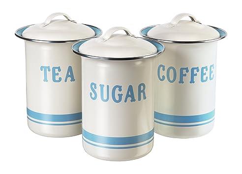 Jamie Oliver JB8910 Retro Dosenset für Kaffee, Tee und Zucker ...