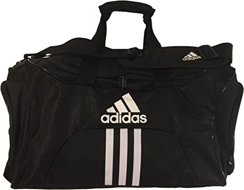Adidas Scorer Medium Duffel Black Orange 25