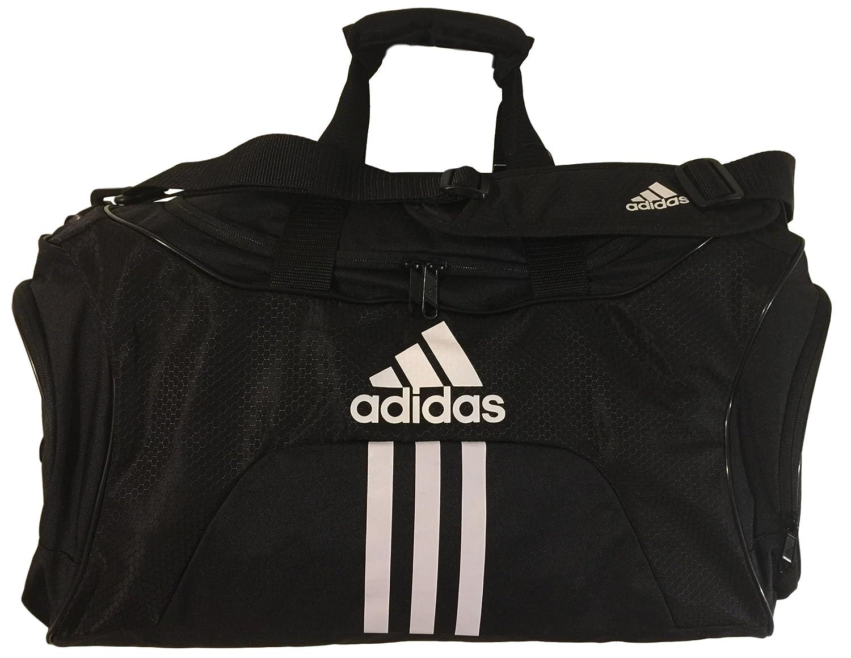 Adidas Scorer Medium Duffel Black Orange 25