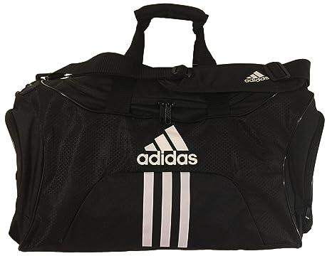 12f26a70047c Adidas Scorer Medium Duffle Black Gym Bag  Amazon.ca  Clothing   Accessories