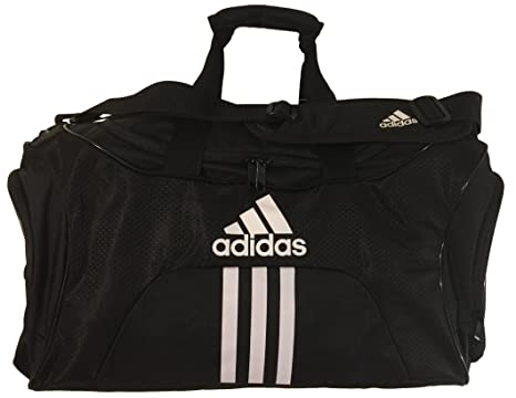 Adidas Scorer Medium Duffle Black Gym Bag 7b4f22774e6b