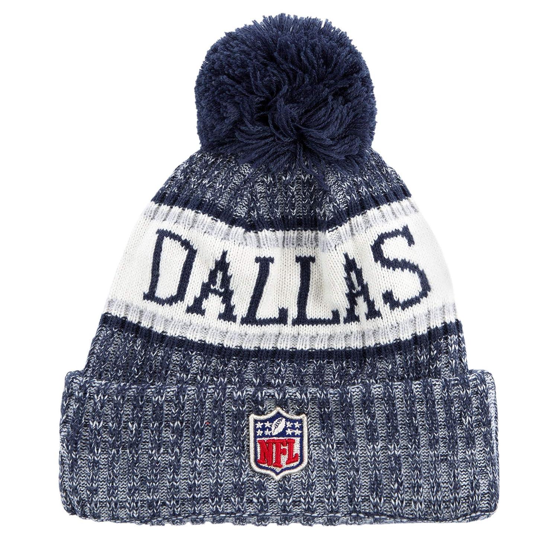 3a96d9391aa Amazon.com   Dallas Cowboys New Era Sport Knit Hat   Sports   Outdoors