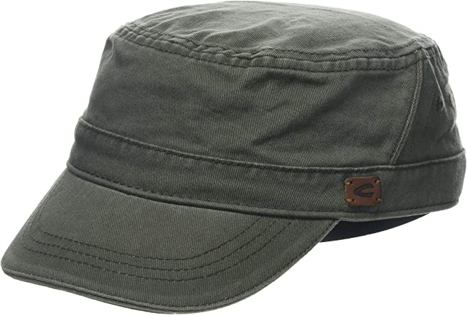 camel active Men's 406270 Flat Cap, Brown (Khaki 36), M