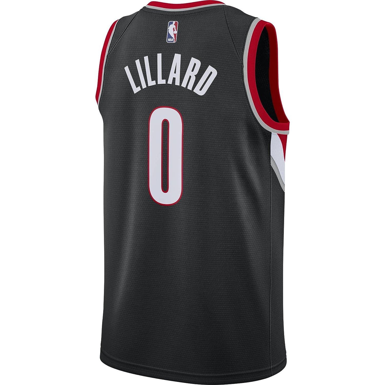 Nike NBA Portland Trail Blazers Damian Lillard 0 2017 2018 Icon Edition Jersey Oficial, Camiseta de Hombre: Amazon.es: Ropa y accesorios