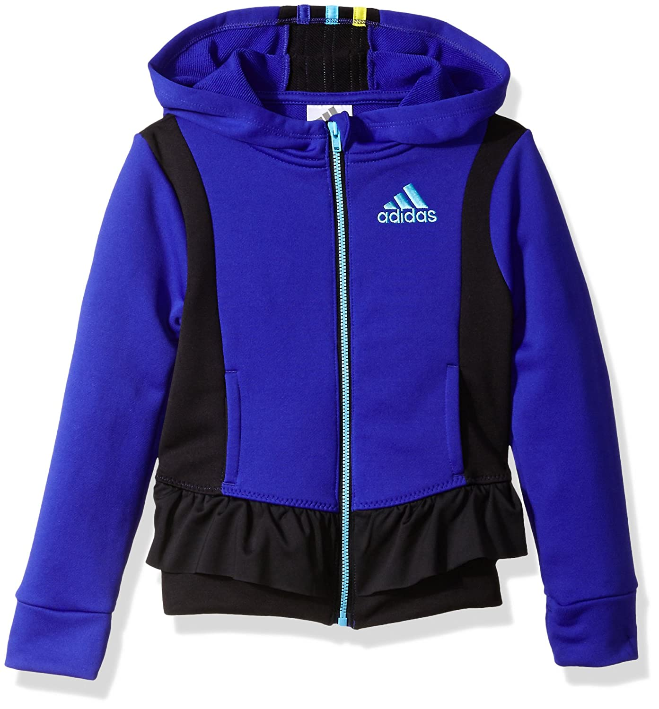 adidas Little Girls' Twirl Trainer Jacket