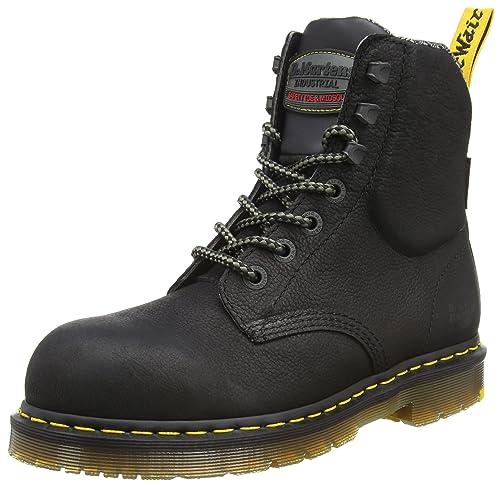 Dr. Martens Hyten S1p, Zapatos de Seguridad Unisex Adulto, Negro (Black 001