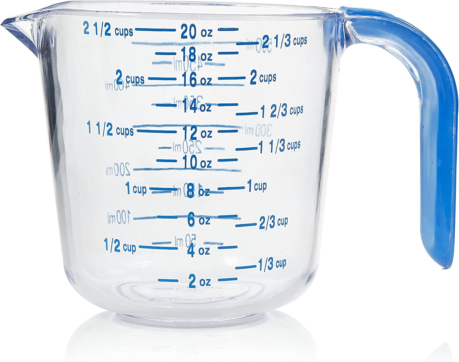 Arrow Home Products Measure Cup, 20-Ounce Capacity, Clear