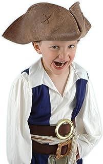 elope Kids Jack Sparrow Hat  sc 1 st  Amazon.com & Amazon.com: Standard Captain Jack Sparrow Costume - Child Small ...