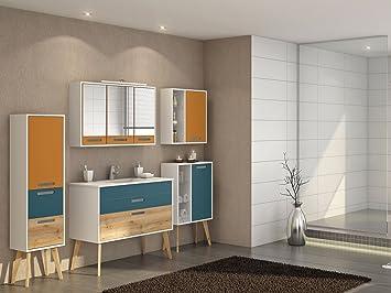 Badezimmer Komplett Set Bad Mobel Badezimmermobel Schrank Skane Iii