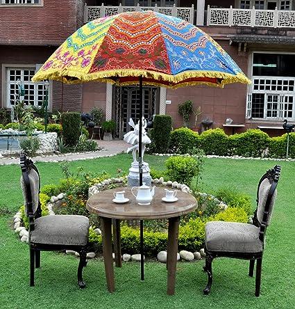 Lalhaveli Sun Umbrella Large For Garden Decoration 52 X 72 Inches