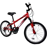 "Xspec 20"" Boys 6 Speed Junior Teen Mountain Bike Bicycle Trail Commuter"