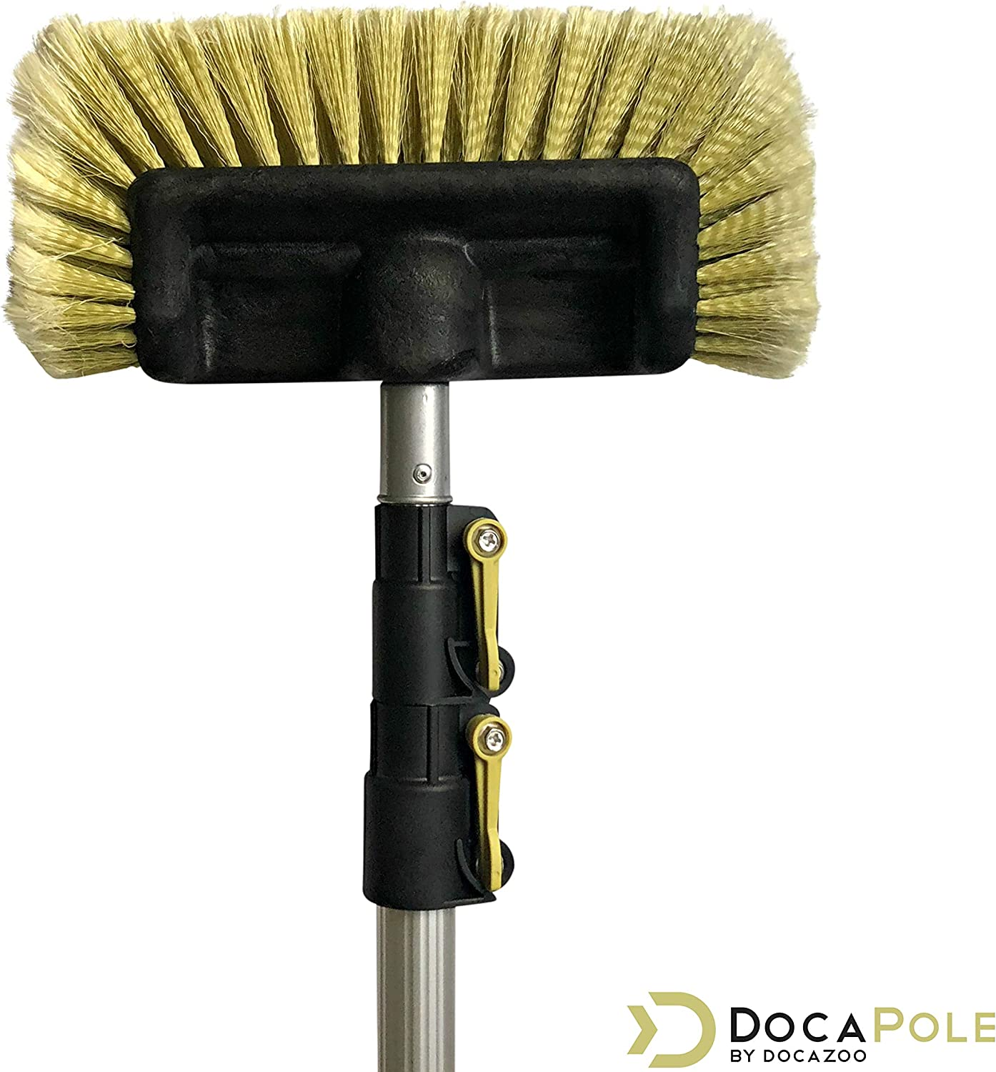 Doca Pole 5-12' Soft Bristle Car Wash Brush & Extension Pole